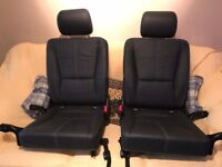 Mercedes-Benz ML 3rd row extra seats and retractable boot cover