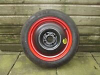 Ford Focus 2004 space saver wheel with tyre unused