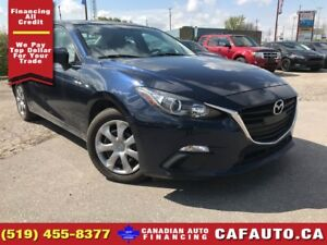 2015 Mazda MAZDA3 GX | APPLY & GET APPROVED TODAY