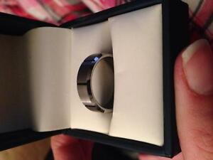 Male tungsten wedding band Regina Regina Area image 2
