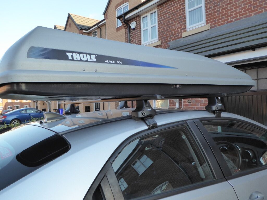 thule alpine 500 roofbox in hyde manchester gumtree. Black Bedroom Furniture Sets. Home Design Ideas