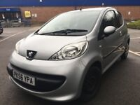 PEUGEOT 107 LIKE AYGO C1*£20 TAX*MOT OCT 18*ONLY 53k MILES*2 OWNERS