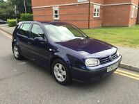 VW GOLF 2001 1.6 PETROL *** AUTO *** LOW MILES EXCELLENT