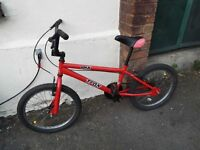 BMX Trax good condition Red small size for kids
