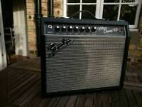 FENDER VIBROCHAMP XD 5 watt VALVE AMP*SAUGHT-AFTER,DISC.HAS MANY VOICES/OPTIONS