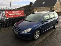 PEUGEOT 307 HDI (05) 1 YEAR MOT, EXCELLENT CONDITION £895