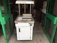 NEW CHIP DUMP CHIPS SCUTTLE CHIPS LOADING STATION FAST FOOD CHICKEN TAKE AWAY RESTAURANT SHOP
