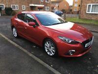 Mazda 3 Sport Nav 2.0 Petrol 2015 Low Milage