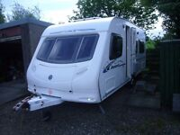 FOR SALE *** 2007 Swift Ace Award Firestar 4 berth fixed bed caravan