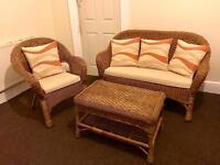 2+1 seater conservatory set