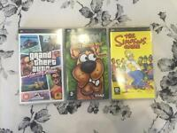 PSP Games (Post and Packaging Inc With Price)