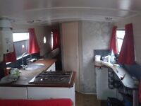 wide beam narrow boat for sale £50k ono.