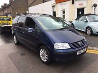 VW VOLKSWAGEN SHARAN 1.9 PD SE DIESEL AUTO TIMING BELT+WATER PUMP DONE HEATED SEATS PARKING SENSORS