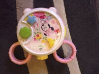 Disney cot light and music toy