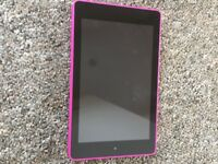 Pink Fire 6 hd tablet.