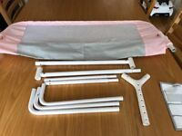 Lindam pink bed guard new