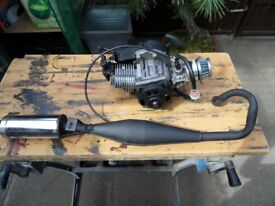 50 cc dirt bike engine
