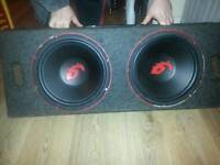 Competition subs and amp 1000w