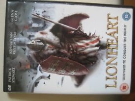 DVD - LIONHEART - DESTINED TO CONQUER THE WORLD