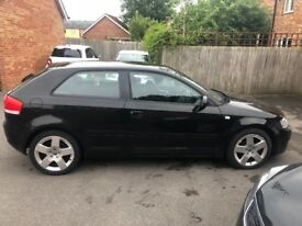 Audi A3. 2.0. 170BHP. Full service history. MOT March 2019. £200 tax per year. Just been serviced