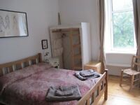 Double room for rent in specious 2 bedroom flat for Fringe 25th Aug-1st Sept
