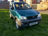 2001 DAIHATSU TERIOS 1.3, 4X4 IDEAL FOR THE BAD WEATHER!!! ONLY 40,000