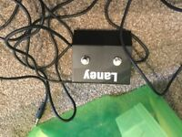 Laney Channel selector foot switch, and volume foot pedal