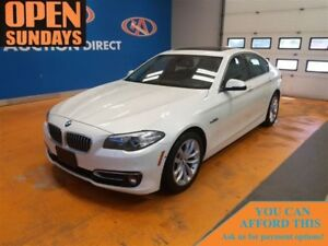 2016 BMW 528i! xDRIVE! HEADS-UP DISPLAY! LEATHER! SUNROOF!