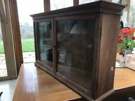 Solid wood antique wall cupboard for sale