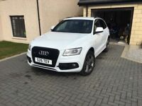 Audi Q5 sline plus, low mileage, 63 plate