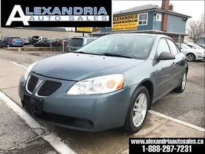 2006 Pontiac G6 SE 4cyl loaded safety included