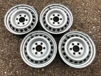 """Genuine 16"""" Mercedes Sprinter 907 Steel Wheels Set of Four Spare Great Condition Singles Available"""