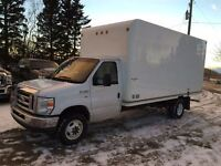 2012 Ford E-450 Cube Van ONLY 56 KM