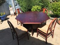Hopewells Contemporary Dining Table and Chairs