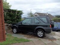 For spares Landrover Freelander Td4.
