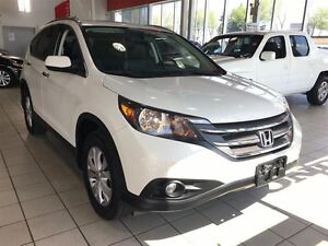 2014 Honda CR-V TOURING | NAV | LEATHER | CLEAN CARPOOF | ECON |