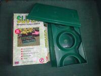 slugx slug trap for gardens etc. beer trap for slugs