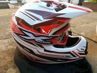 motocross helmet brand new
