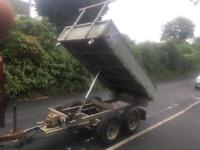 Ifor Williams tipper trailer 10x5 ft