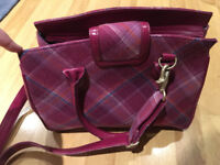 Pink And Purple Used Ness Handbag In Great Condition