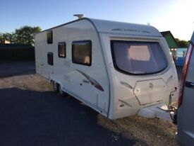 Avondale DART 630 caravan. 6 berth. 2009 Ex condition with motor mover plus extras