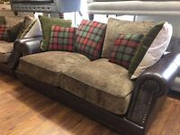 tetrad style sofa 3&2 full set only £899