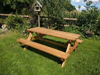 Large Picnic Bench
