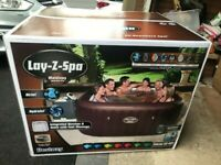 Lay Z Spa Maldives Hydrojet Pro Hot Tub 7 Person NEW - MANCHESTER OR CAN DELIVER