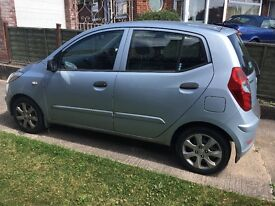 Hyundai I10 for sale. Low mileage. Great little car.