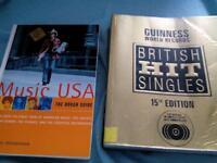 British hit singles and music USA £0.50
