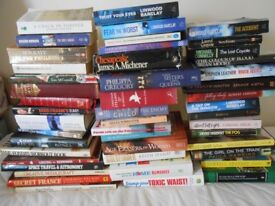 Job lot 0f 50 books only 40p a book. Perfect for table top sales/car boots etc