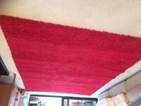 Large red rug