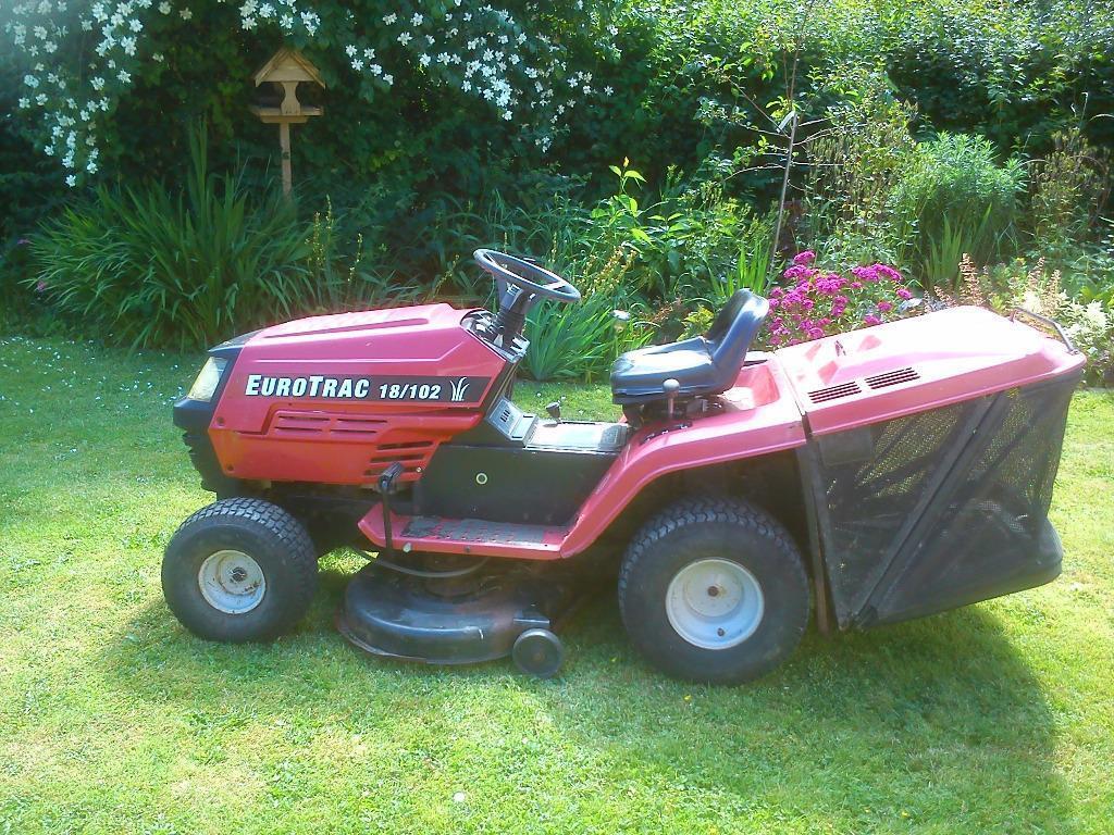 Ride On Mower Garden Tractor Mtd Eurotrac 18 102 In