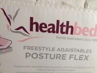 Postureflex Healthbed- Electric adjustable single bed